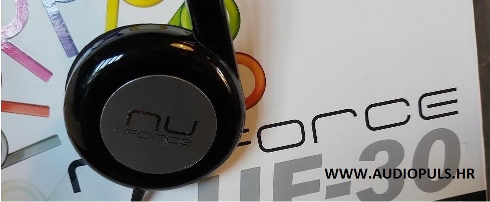 NuForce UF-30 headphones, black