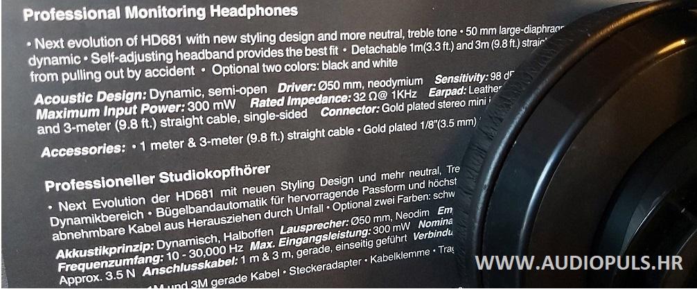 Superlux 681EVO headphones, black
